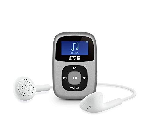SPC Sparrow Reproductor MP3 con Radio FM y Pantalla iluminada