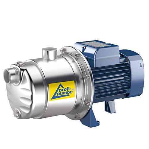 PROFI- PUMPE HAUSWASSERWERK HAUSWASSERAUTOMAT SELBSTANSAUGEND KREISELPUMPE PUMPE INNO-TEC 750 Watt LEISE ENERGIESPARSAME EDELSTAHL-Pumpe für Klarwasser Qualität aus EU-FERTIGUNG DAUERLAUF-geignet