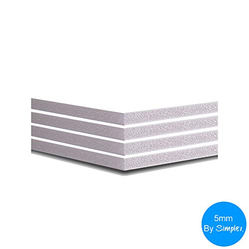 297x420mm Cathedral Products Foamboard White 5mm A3 Pack of 10