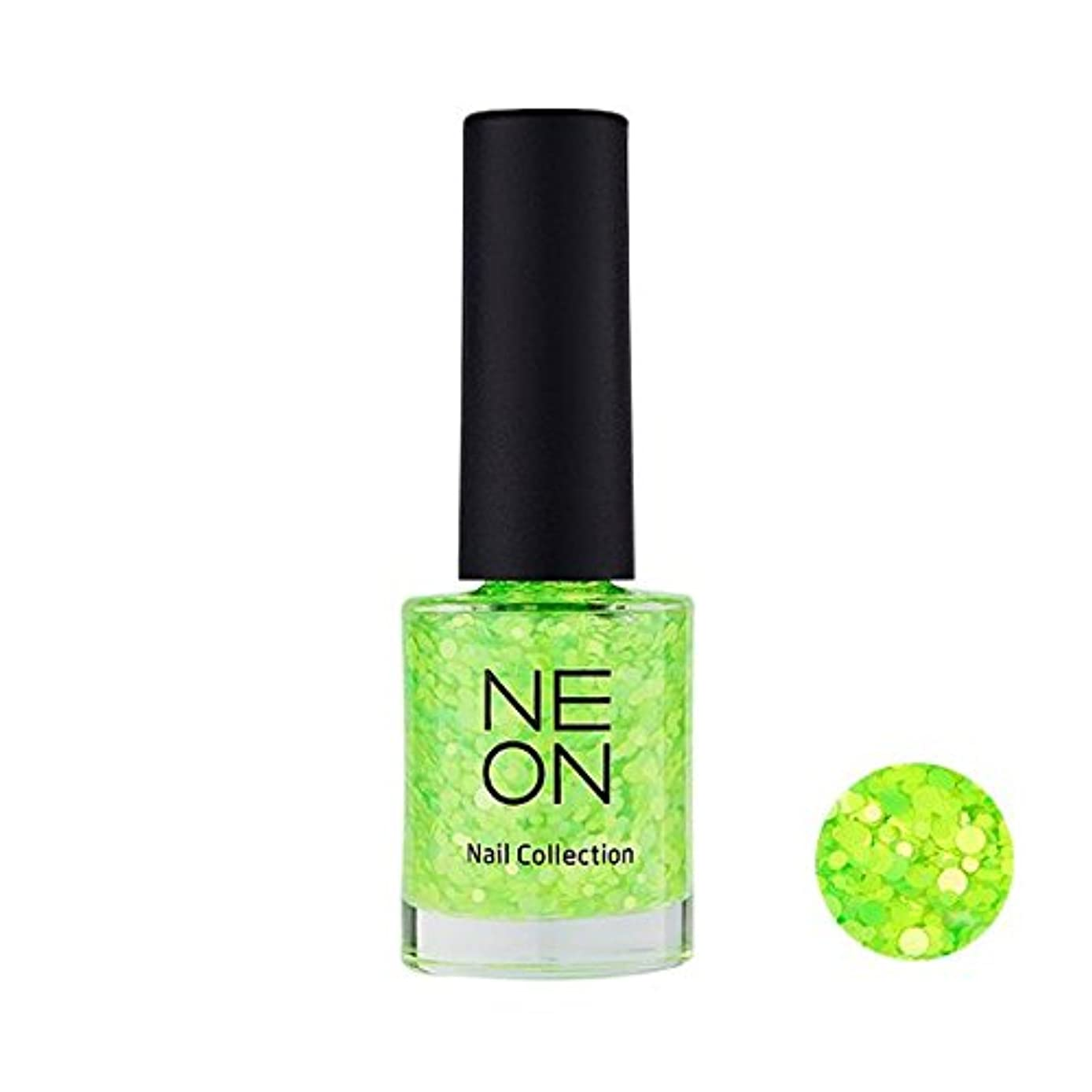 却下する呪い反対にIt'S SKIN Neon nail collection [04 Neon Glitter green] イッツスキン ネオンネイルコレクション [04 ネオン グリッター グリーン] [並行輸入品]