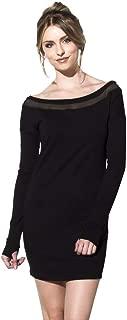 Shabbella Supersoft Off Shoulder Sweatshirt Dress