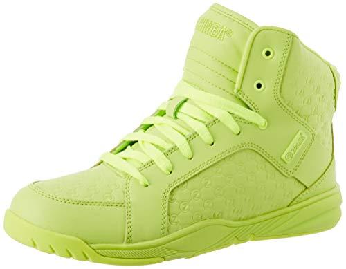 Zumba Fitness Damen Active Street Boss Stilvolle Turnschuhe Workout Fitness Tanzschuhe Dance Shoe, Zumba Green, 38 EU