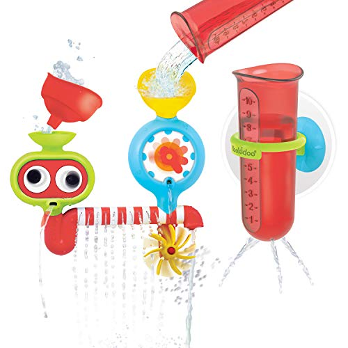 Yookidoo Baby Bath Toy - Spin 'N' Sprinkle Water Lab - Spinning Gear...