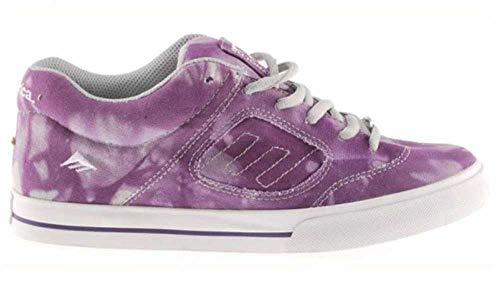 Emerica Skateboard Schuhe Reynolds Purple/White, Schuhgrösse:42