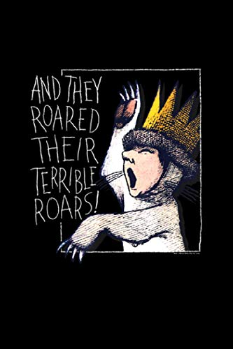 Where the Wild Things Are Roar Notebook 114 Pages 6''x9'' College Rule