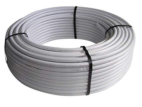 Tubo conector multicapa, Conector de tubo de aluminio 20x2mm, AL/PE-Xb a DVGW, impermeables, 10m, 25m, 50m, 100m Estores, Longitud:25m