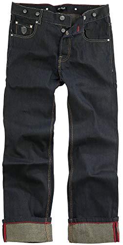 Chet Rock Loose Larry Männer Jeans blau W32L34 100% Baumwolle Biker, Rockabilly, Rockwear