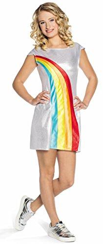 K3 Verkleedjurk regenboog - volwassen