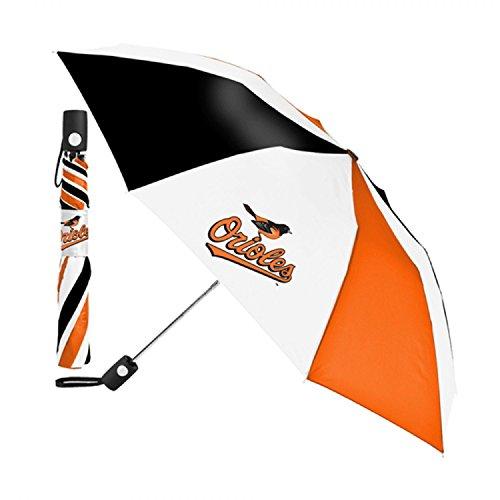 McArthur Sports- MLB Auto Fold Umbrella (Baltimore Orioles)