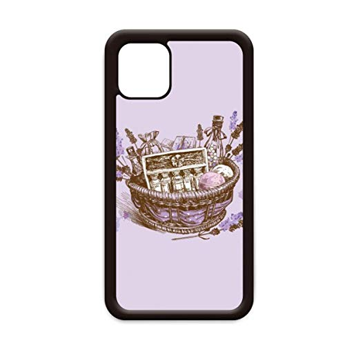 Bloemen Plant Schilderij Present lavendel Mand voor Apple iPhone 11 Pro Max Cover Apple Mobiele Telefoon Case Shell, for iPhone11 Pro