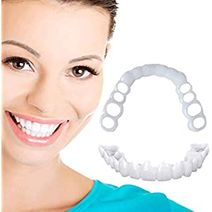 ZXH 2 Pair Veneers Snap In Teeth