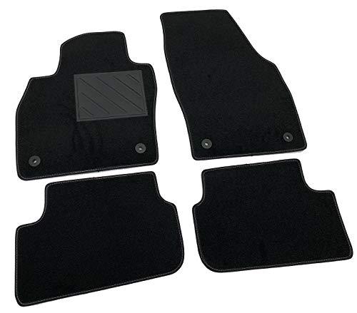 Alfombrillas para Seat Ibiza V a partir de 2017, a medida, antideslizantes, talonera de PVC, fijación