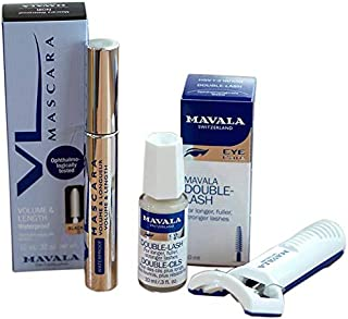 Mavala Kit, Double Lash Mascara, Eye Lash Curler - 9233032AR