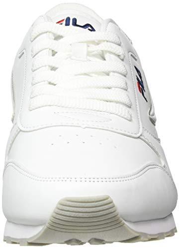 FILA Orbit men zapatilla Hombre, blanco (White), 41 EU