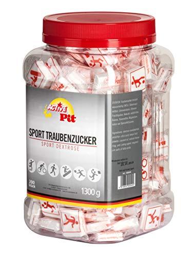 Active Pit Sport - 200 Tabletas de Glucosa sabor limón - FORMATO AHORRO 1,3Kg