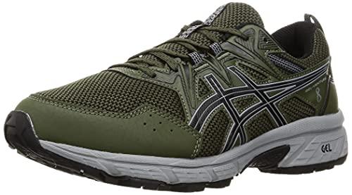 ASICS Herren Gel-Venture 8 Running Shoe, Olive Canvas/Black, 45 EU