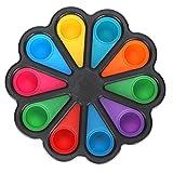 Agatige Paleta de Pintura para niños, paletas de bandejas de...
