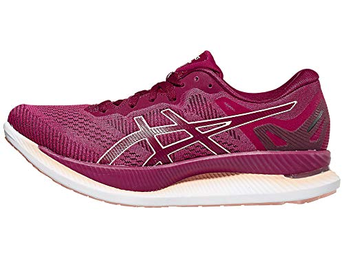 ASICS Women's GlideRide Running Shoes, 7.5M, Rose Petal/Breeze