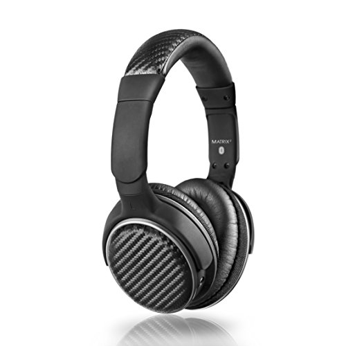 MEE audio Matrix2 Bluetooth Wireless + Wired High Fidelity Headphones with Headset and Supports aptx and NFC