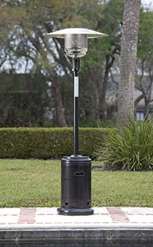 AmazonBasics Commercial Outdoor Patio Heater, Havana Bronze