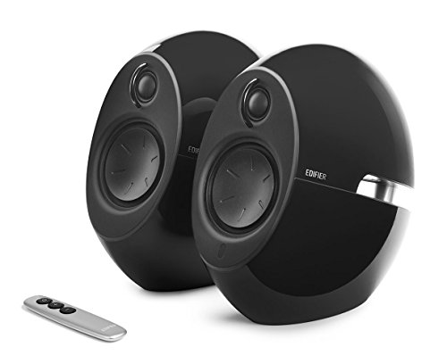 Edifier USA e25HD Luna Eclipse HD 2.0 Bluetooth Speakers with Digital Optical Input (Black)