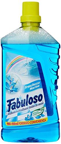 Fabuloso - Freschezza Marina, Detergente per Pulizia della Casa Profumo Continuo - 1000 ml