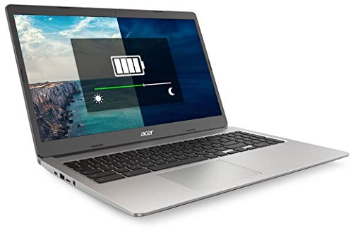Acer Chromebook 315 CB315-3H - (Intel Celeron N4020, 4GB RAM, 64GB eMMC, 15.6 inch Full HD Display, Chrome OS, Silver)