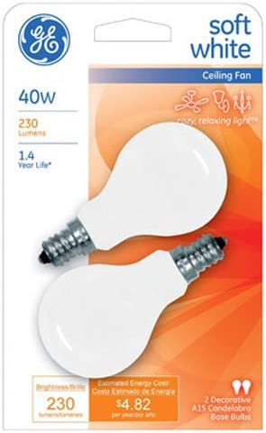 GE Lighting 71394 Traditional Max 81% OFF In Incandescent Appliance National products