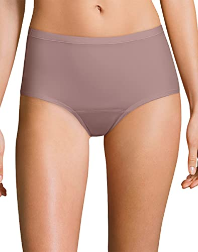Hanes Women's Fresh & Dry Brief Underwear 3-Pack, Assorted-3 Pack, 10