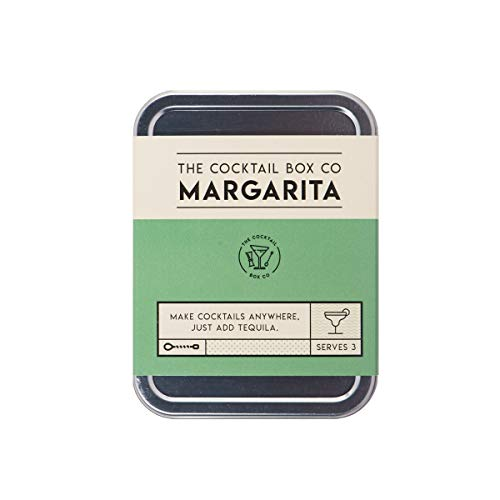 The Margarita Cocktail Kit by The Cocktail Box Co. - Makes Premium Hand Crafted Cocktails. Great Gift for Any Cocktail Lover and Makes The Perfect Travel Companion! (3 Drink)