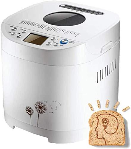 MISLD Regal Automatische Brotmaschine Startseite DIY Brotmaschine Automatische Teigknetmaschine Multifunktions Timing-stumm Brot Menü 15h Roaster Brotkasten Einfache Intelligent Bedienung 21