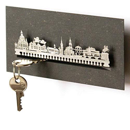 13gramm Dresden-Skyline Schlüsselbrett Souvenir in der Geschenk-Box