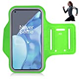 iPro Accessories Oneplus 9 Pro Case, Oneplus 9 Pro Brazalete caso, [Brazalete] deportes, correr, caminar, senderismo, entrenamiento y ejercicio funda para brazalete (verde)