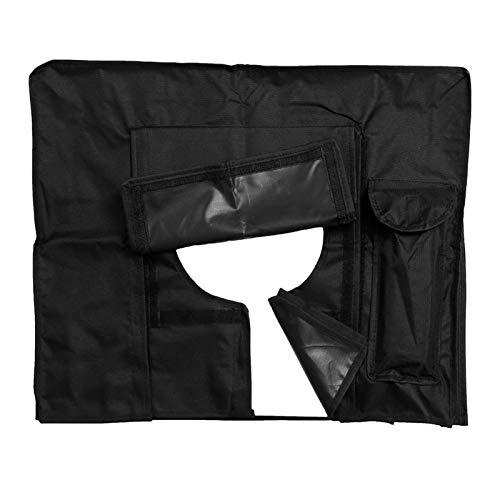 LANCYG TV Cubierta Protectora,Protectores de Pantalla de Al Aire Libre de la Pantalla de TV Prueba de Polvo y Resistente al Agua Cubierta Cubierta Negro de TV Receptor de TV 22 Pulgadas a 70 pul