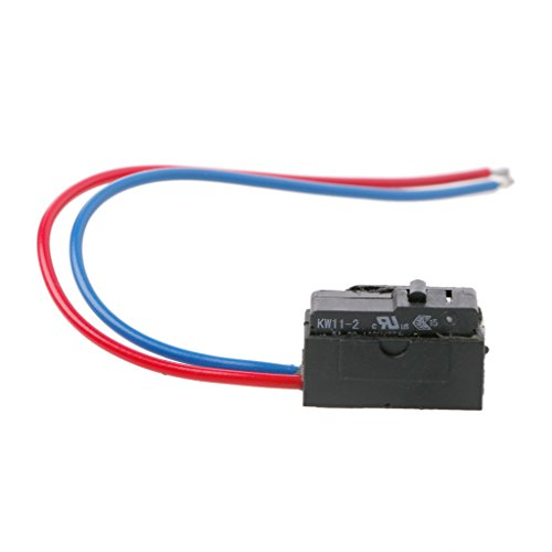 Xuniu Sensor de Puerta Izquierda Cerradura Micro Interruptor para Octavia Fabia Superb Passat B5 Bora Golf 4 MK4