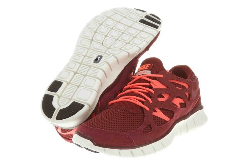 Nike Free Run 2 Men's Shoes Size 8 Red/White, Team Red, Size 8.0