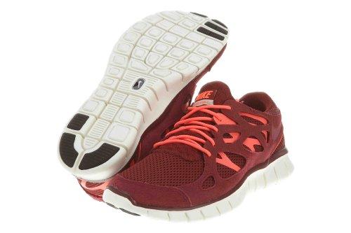 Nike Mens Free Run 2 Team Red/Atomic Red-Mortar 537732-606 8