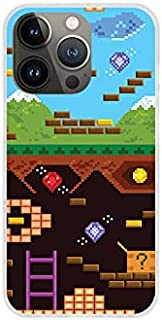 Etui na Apple iPhone 13 Pro - etui na telefon Fantastic Case - old school game - guma case obudowa silikonowa wzory