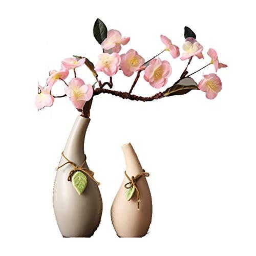 TX namaakbloem TXC simulatie kersenbloesem decoratieve ornamenten Zen startpagina handgemaakte keramische vaas set heldere kleuren