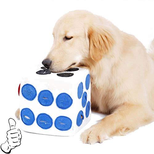 CUXU Hundespielzeug,Baumwolle ungiftig und geruchlos Dog Interactive Molar kauspielzeug,Interaktives Spielset,Kauspielzeug für Kleine und Mittel Hunde