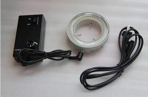 GOWE nueva 80bombilla de luz LED Microscopio estéreo Iluuminator zeiss ajustable