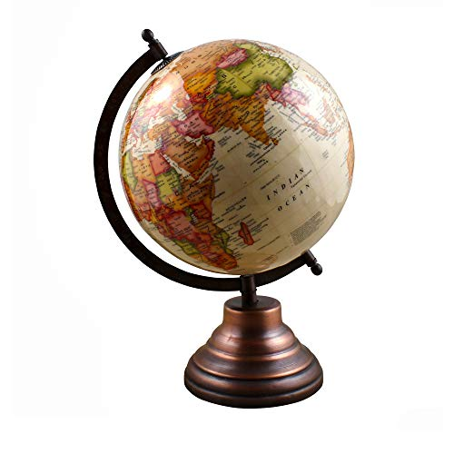 ABN Fashion Decorative World Globe with Stand Educational Interactive Office Globe
