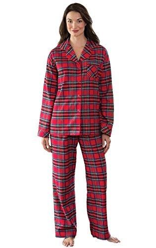 Pajamagram Womens Pajama Sets - Christmas Pajamas, Red, SM