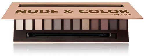 Miss Cop - Paleta de maquillaje Nude & Color