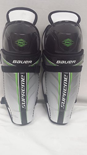Bauer Supreme Pro Hockey Shin Guard Jr-CTC Size 10