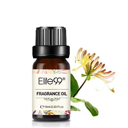 Elite99 GeißblattDuftöl, Ätherisches Öl für Diffuser, Naturreines Aroma Duftöle, Elite99 Honeysuckle Fragrance Oil 10ML