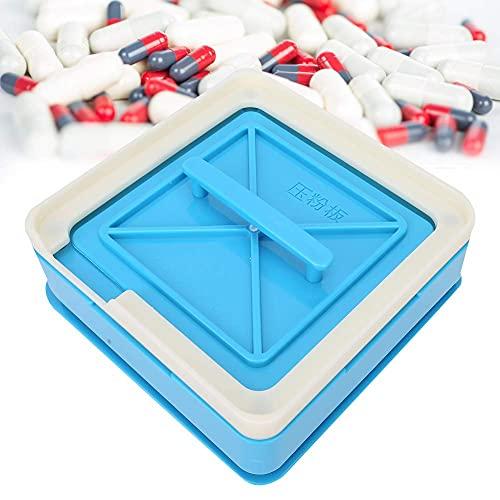 N\C ZZST Máquina de llenado de cápsulas Tamaño 1, 100 Agujeros Placa de cápsula vacía para tamaño 1# Herramienta de llenado Manual de gelatina en Polvo para cosméticos de Belleza ZZST