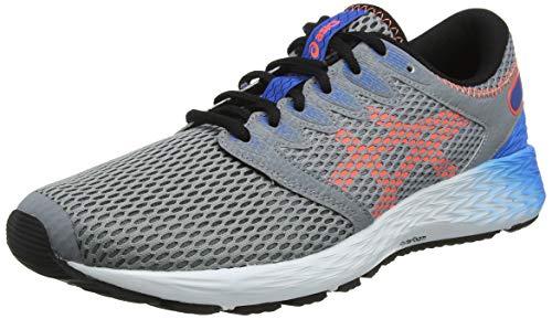 Asics Roadhawk FF 2, Zapatillas de Running Hombre, Gris (Sheet Rock/Flash Coral 022), 41.5 EU