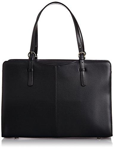 ビジネスバッグ[ラカセッタ]LACASETTA合皮ビジネストートバッグ(A4対応)0482クロ(ブラック)ブラック