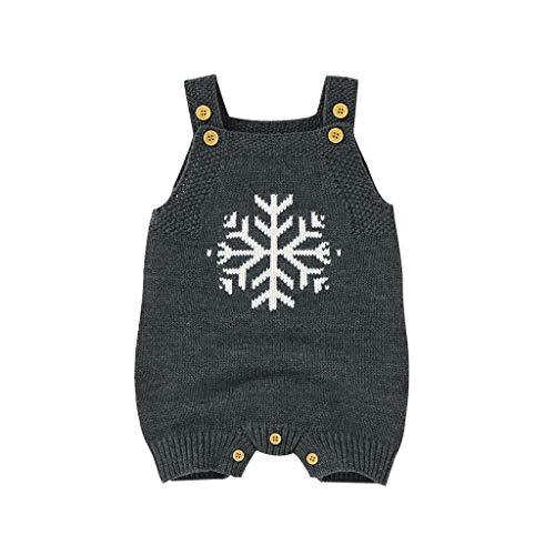 Pwtchenty Neugeborene Mädchen Mädchen Winter Winter Strick Outwear Weste Rüschen Pullover Strampler